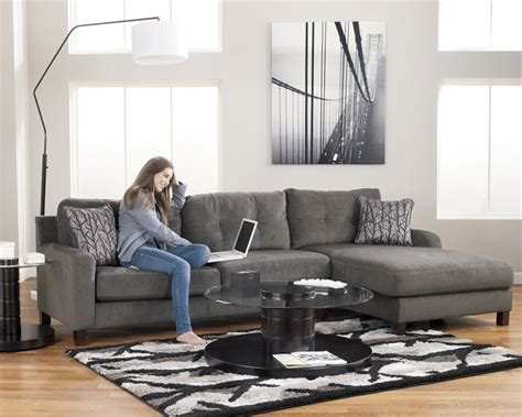 Small L Tables For Living Room by Section Furniture Siroun Steel Small L Shaped Fabric Sectional Sofa Projects To Try