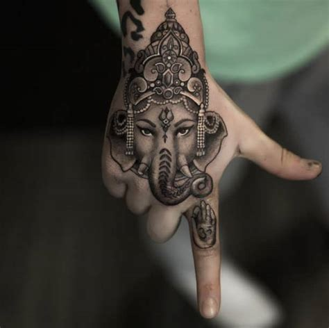 elephant tattoo on hand 32 elephant tattoos on