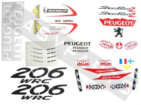 Aufkleber F R Peugeot Roller by Aufkleber Set Peugeot Speedfight 2 Wrc 39 St 252 Ck