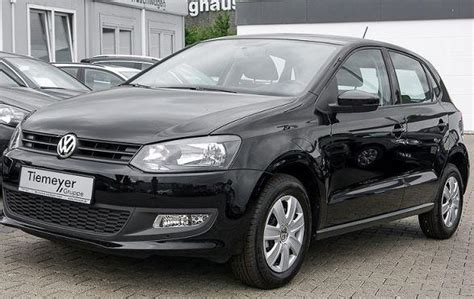 black volkswagen polo volkswagen polo black 2013