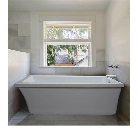 66 x 32 bathtub mti basics freestanding bathtub 66 quot x 32 quot x 20 quot free