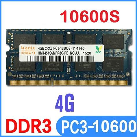 Ram Ddr3 4gb Hynix memoria ram hynix ddr3 1333 10600 mhz 4gb sodimm pc3 bs