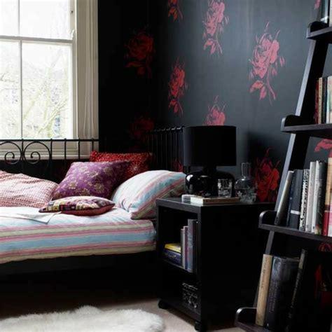 schlafzimmer mit schwarzen möbeln 90 neue tapeten farben ideen teil 2 archzine net