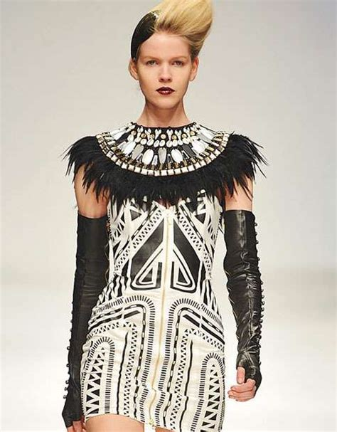 Tribal Inspired Clothes by Jailhouse Tribal Fashion Sass Bide Autumn 2010 Collection