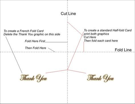 Thank You Gift Card Template - free printable thank you cards 3