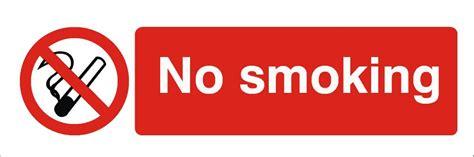 no smoking sign for car no smoking sign small raymac signs
