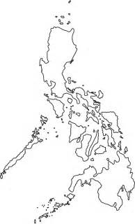 Philippines Map Outline by Philippines Outline Map