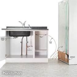 how to install refrigerator plumbing family handyman