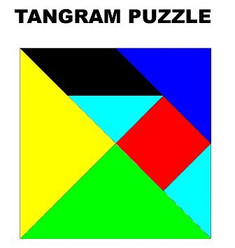 printable tangram activity sheets tangrams printable worksheets clipart best