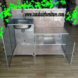 Rak Cuci Piring Aluminium rak kompor dan cuci piring aluminium