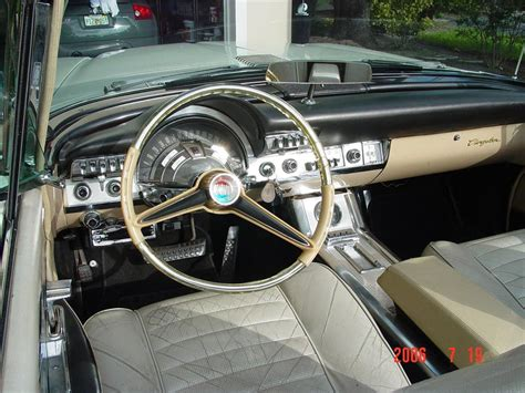 chrysler car interior 1960 chrysler 300f convertible 49903