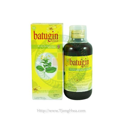 Batugin Elixir Sirup 300 Ml batugin 300ml