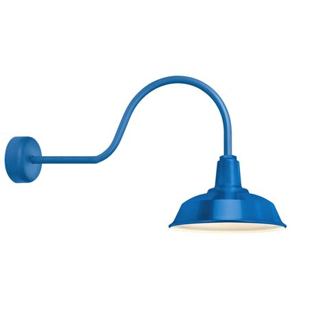 Heavy Duty Outdoor Lights Heavy Duty Blue One Light 14 Inch Outdoor Wall Sconce With 30 Inch Arm Troy Rlm Lighting W