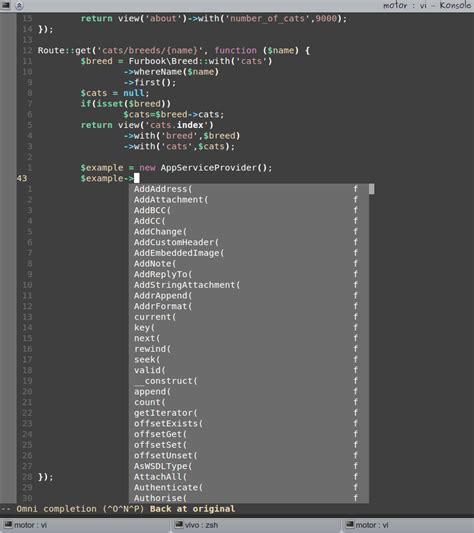 laravel tutorial stackoverflow laravel vim for php frameworks stack overflow