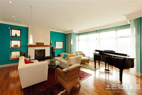 90平米二居室2012家装客厅效果图 土巴兔装修效果图