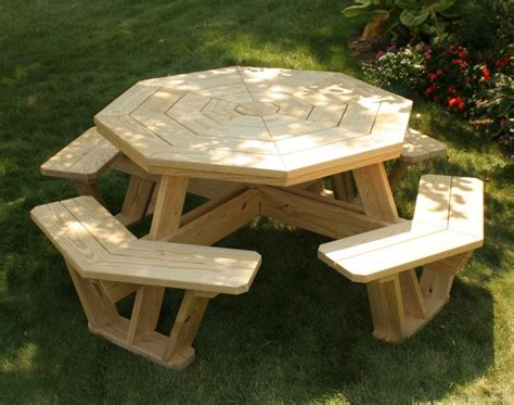 teak picnic table with detached benches furniture teak outdoor tables bond picnic table