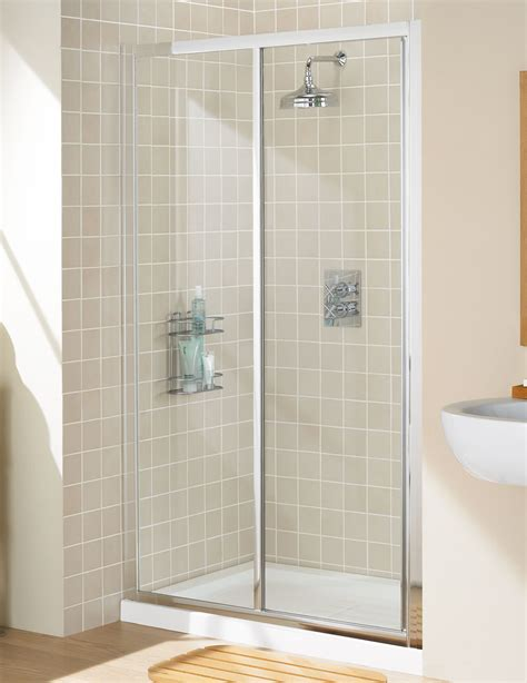 Lakes Classic Framed Slider Shower Door 1200mm Silver Lakes Shower Doors