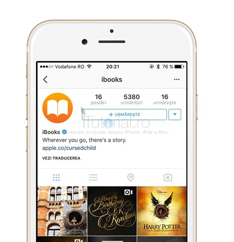 instagram beta tutorial ibooks are cont de instagram iar ultima carte harry potter