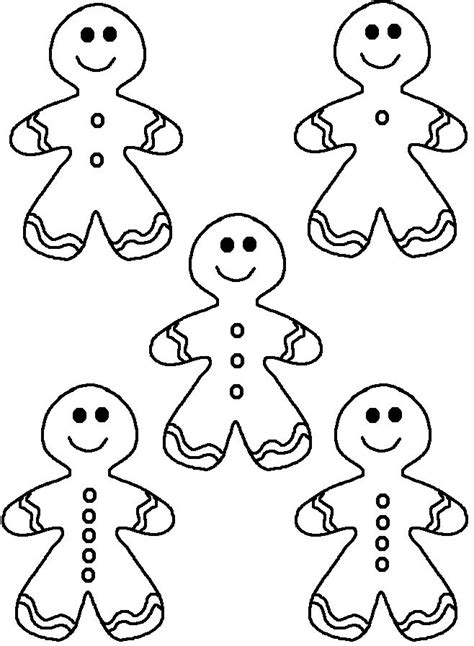 cute gingerbread man coloring page five cute gingerbread coloring pages christmas crafts