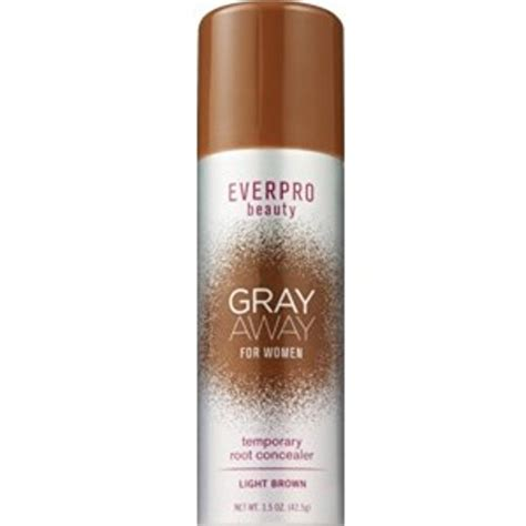 gray away root concealer gray away hair dye as seen on gray away root concealer light brown matches hair