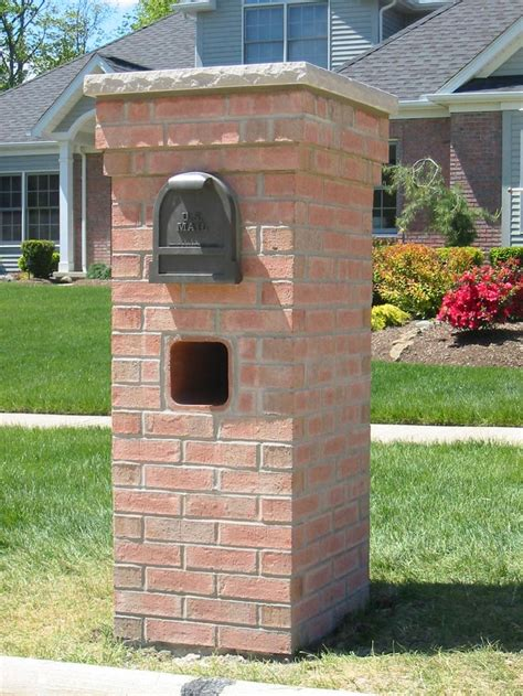 brick mailboxes 75 best images about brick mailbox on planters brick mailbox and how to build