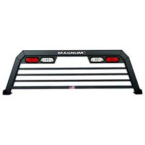 truck rack with lights low pro all aluminum usa made