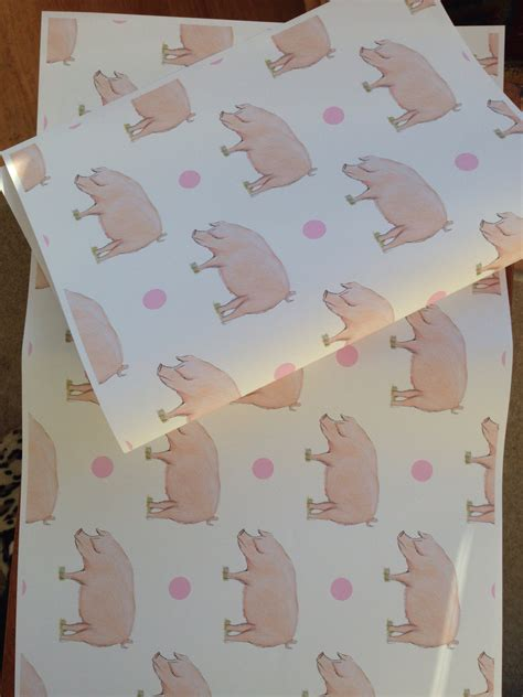 ca gift wrap pig wrapping paper gift wrap for pig for pig by