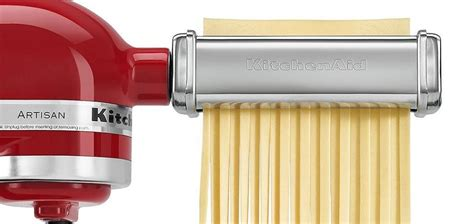 kitchenaid pasta roller cutter attachment set review