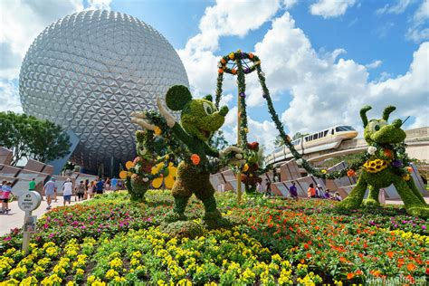 Epcot Flower And Garden Show Photos 2017 Epcot International Flower And Garden Festival