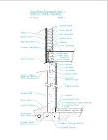 insulated basement wall interior rigid insulation