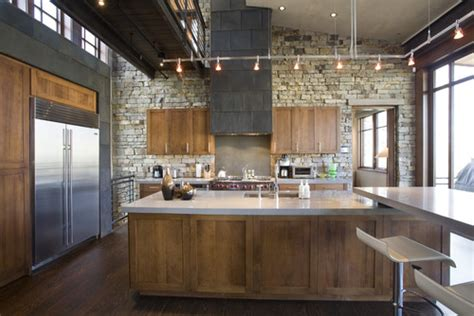 Rustic Modern Kitchen Cabinets Can You Do A Rustic Lodgy And Modern Kitchen
