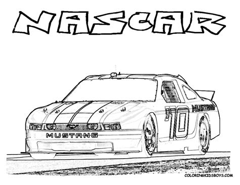 nascar coloring pages free printable nascar kyle busch free coloring pages