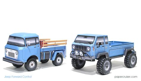 old jeep models jeep mighty fc concept truck 171 papercruiser com