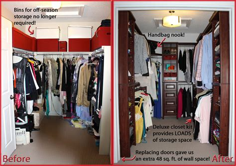 Closet Remodel Ideas by Closet Organization On Any Budget