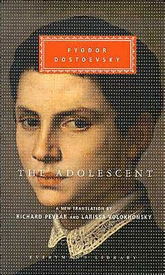 the adolescent everyman s library series by fyodor dostoevsky 9781400041183 hardcover