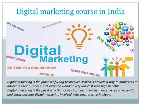 Courses On Digital Marketing 5 by Digital Marketing Course In India