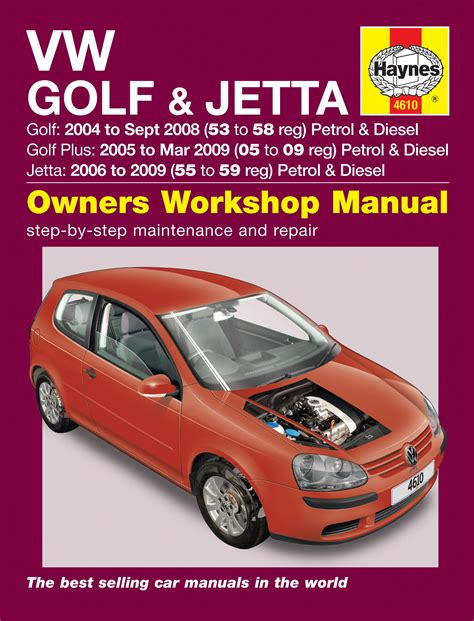 car repair manuals online pdf 2008 volkswagen gli lane departure warning vw golf 04 sept 08 golf plus 05 mar 09 jetta 06 09 haynes repair manual haynes