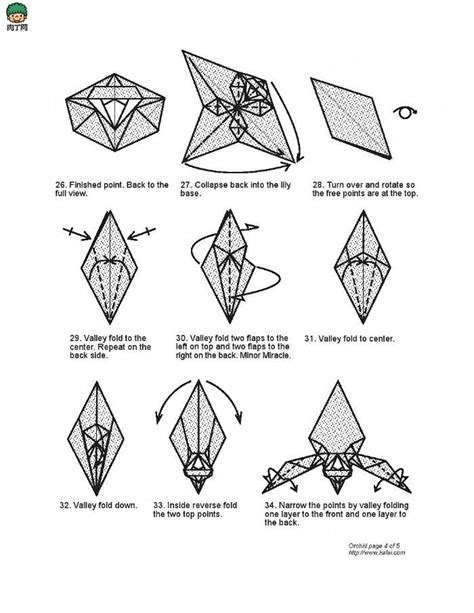 origami orchid tutorial 28 best images about origami on pinterest valentine day