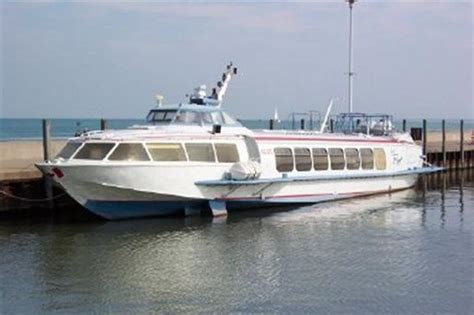 hydrofoil yacht for sale voskhod 2 aluminum hydrofoil fast ferry 1989 used boat for