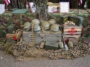 Camouflage Decorating Ideas Party Military Theme Amp Event Rentals Display Group