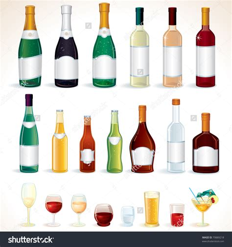 alcoholic drinks bottles clipart bottle pencil and in color