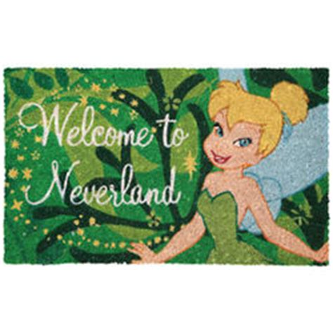 Disney Welcome Mat by Disney Welcome To Neverland Mat Findgift
