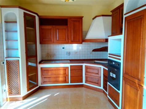 cucine ad angolo in muratura cucina in finta muratura angolare roma su misura e in