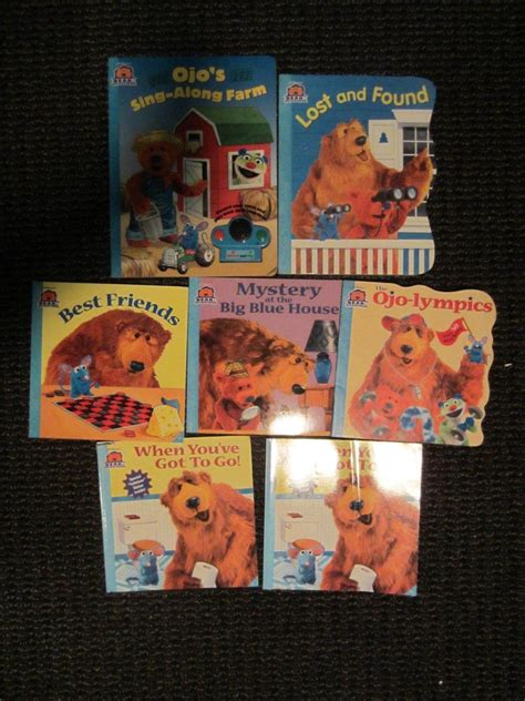 ebay books 6 bear in the big blue house books soft hard cover