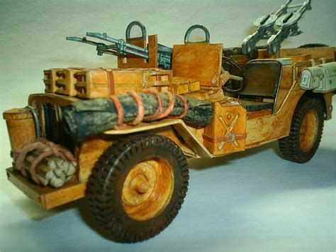 Desert Rat Jeep Wwii Sas Desert Rat S Jeep 1942 By Mauther