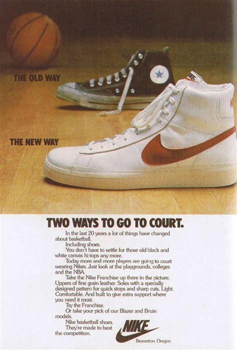 basketball shoe ads 16 best nike 80 s ads images on vintage nike