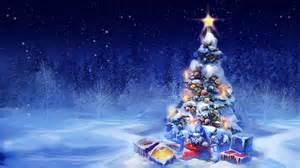 new year snow tree gifts lights new year snow toys hd wallpaper