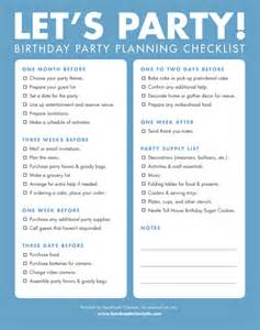 party planning checklist on pinterest event planning