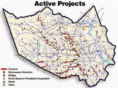 houston district j map cityfloodmap flood risk reduction harris county