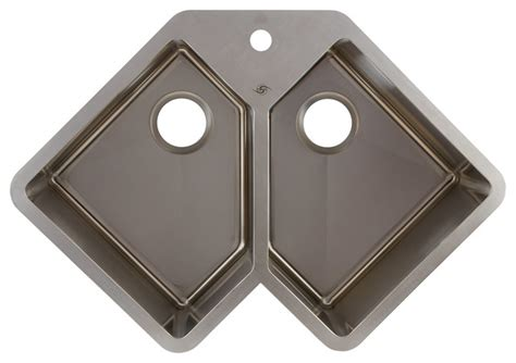 corner sinks for kitchen stainless steel corner kitchen sink contemporary